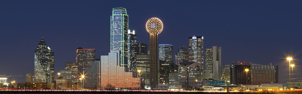 Dallas, Texas Skyline at Night